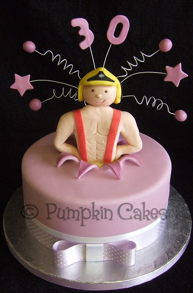 Tremendous Fireman Stripper Cake Anybody Shout Fire Heres A Cheek Flickr Funny Birthday Cards Online Alyptdamsfinfo
