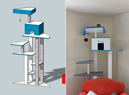 Cat Tower Design & Implementation