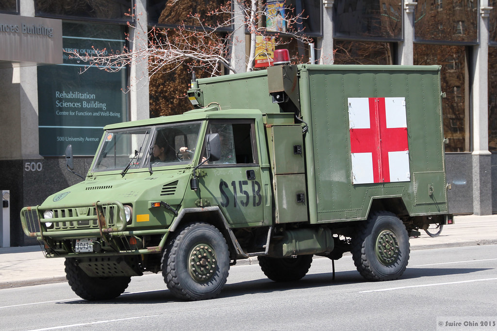 Canadian Military Ambulance I Dedicate This Series Of