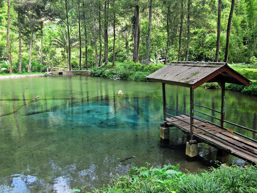 ... of Green Pond | Wisata sumber mata air Rambut Monte. Kr… | Flickr
