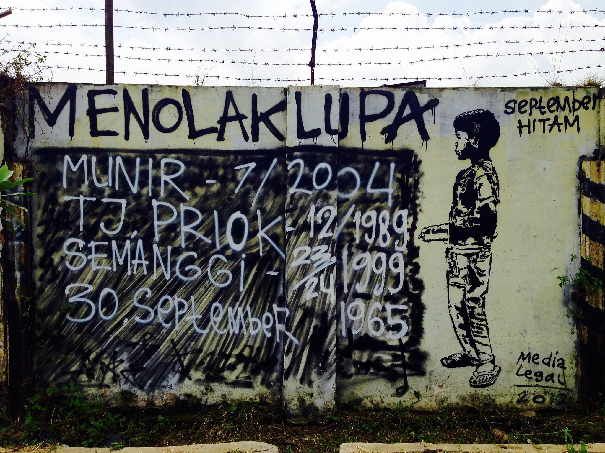#Graffiti near the Bandung Train Station