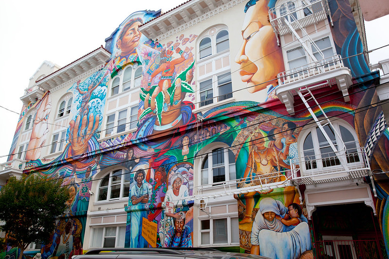 Visiting San Franciso, Part 2: The Mission District