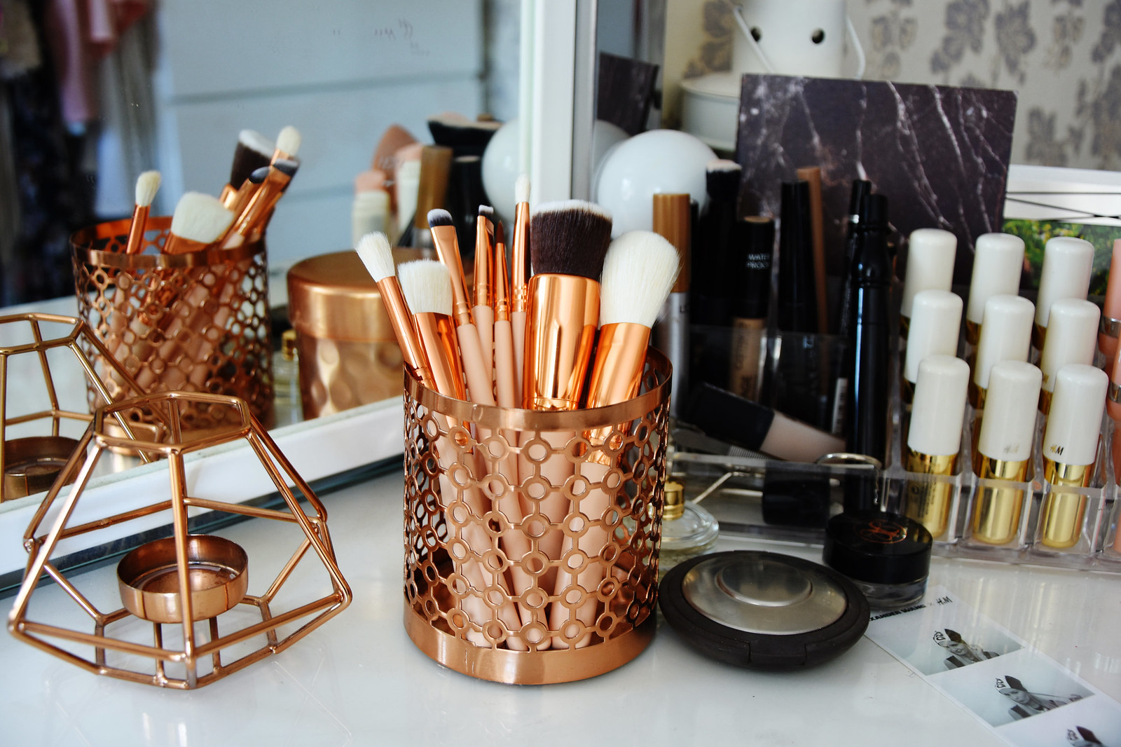 Makeup brushes from Ebay dupe for Zoeva