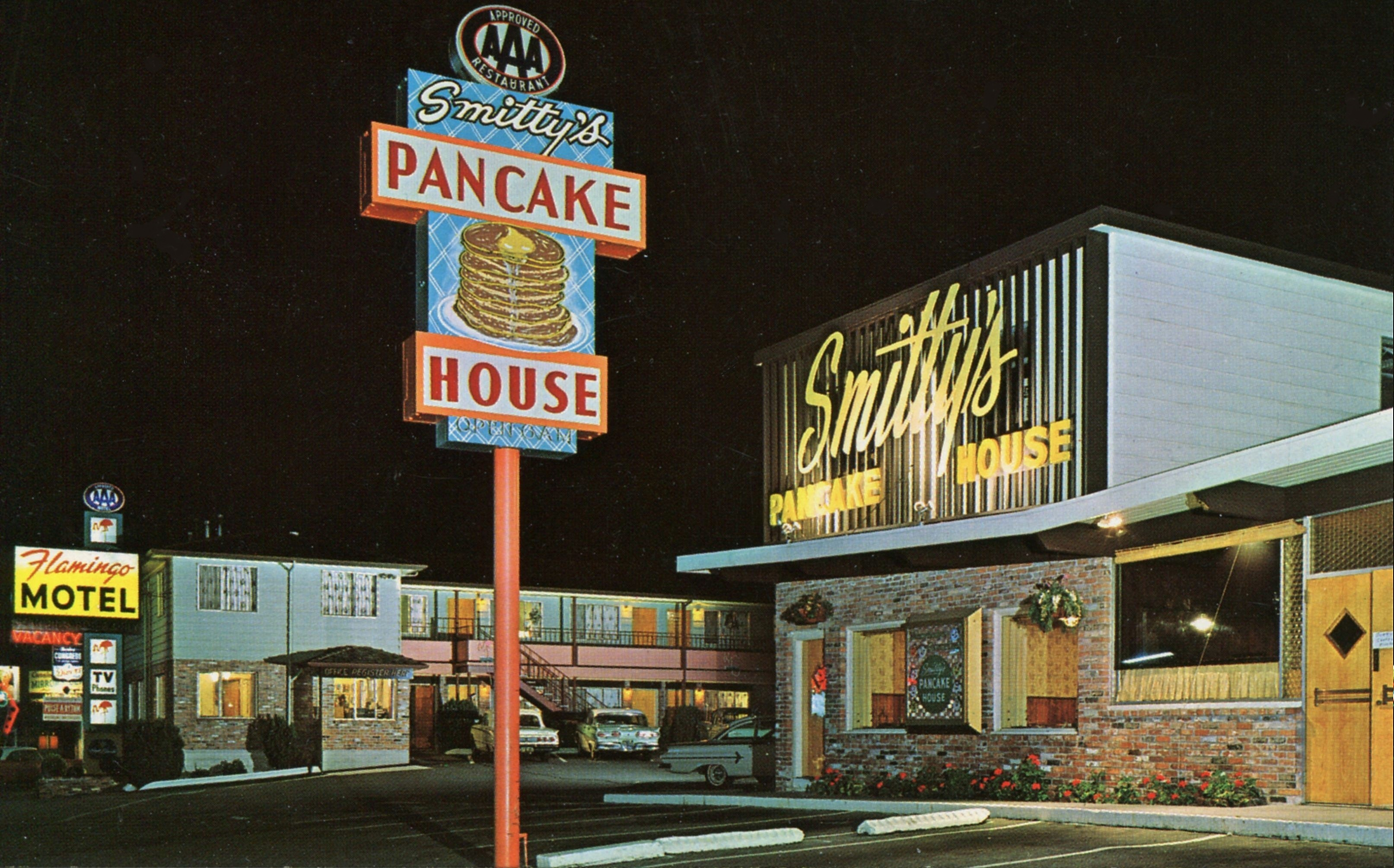 Smitty's Pancake House - Seattle, Washington U.S.A. - 1960s