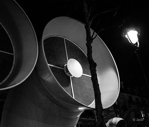 @Beaubourg, la nuit