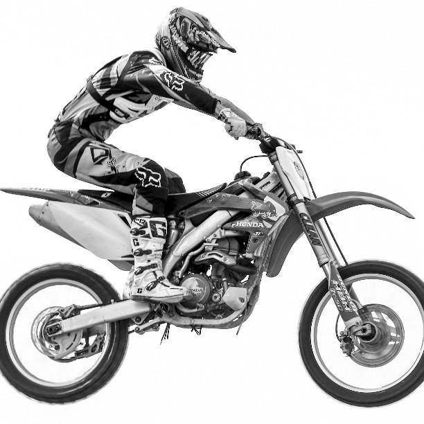 motocross bw