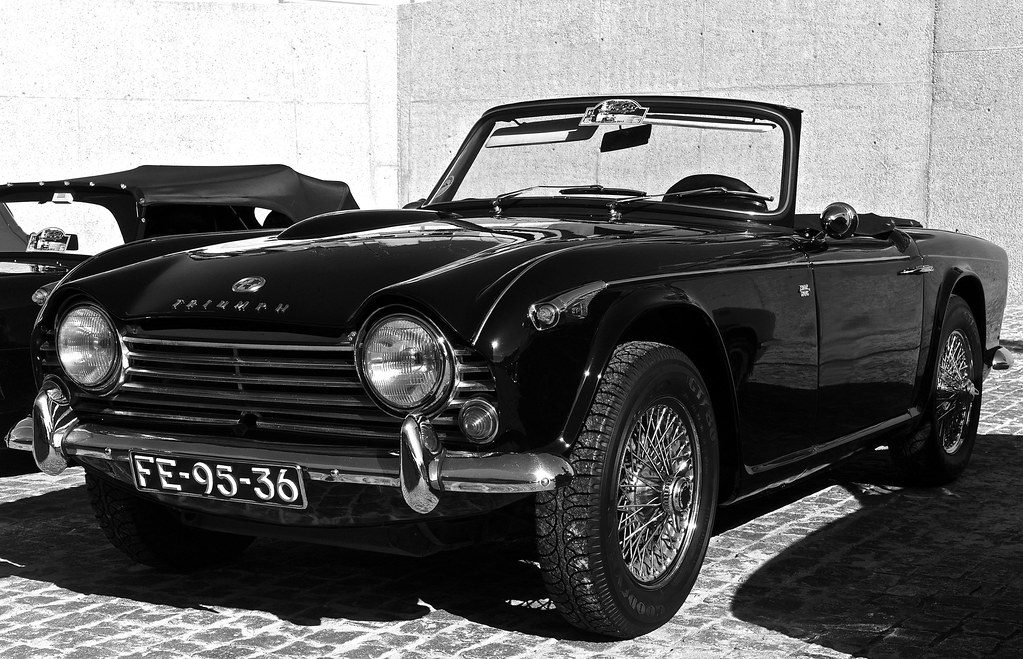 Triumph Tr4 A Belem Lisbon Portugal In Wikipedia The