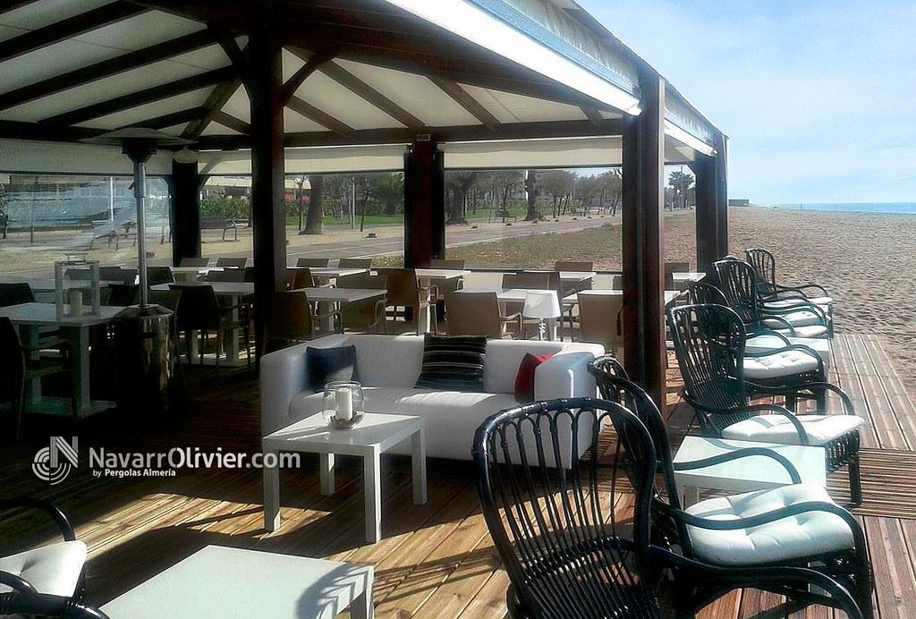 Terraza de chiringuito de playa terraza comedor - Comedor de terraza ...