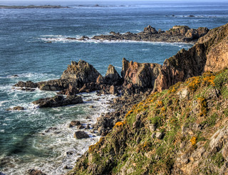 Cliffs on the coast of Alderney | by neilalderney123