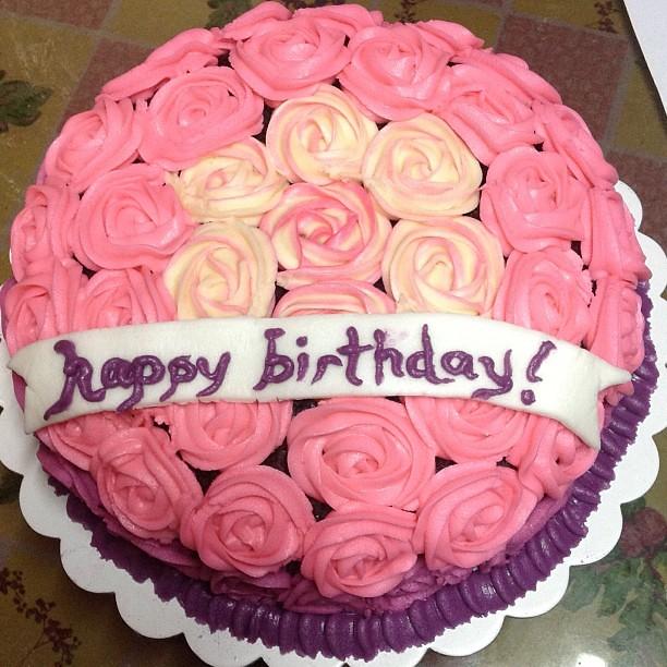 Happy Birthday Beautiful Cake For The Girl Soniasitaldas