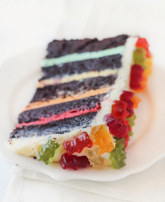 Gummy Bear Cake Recipe