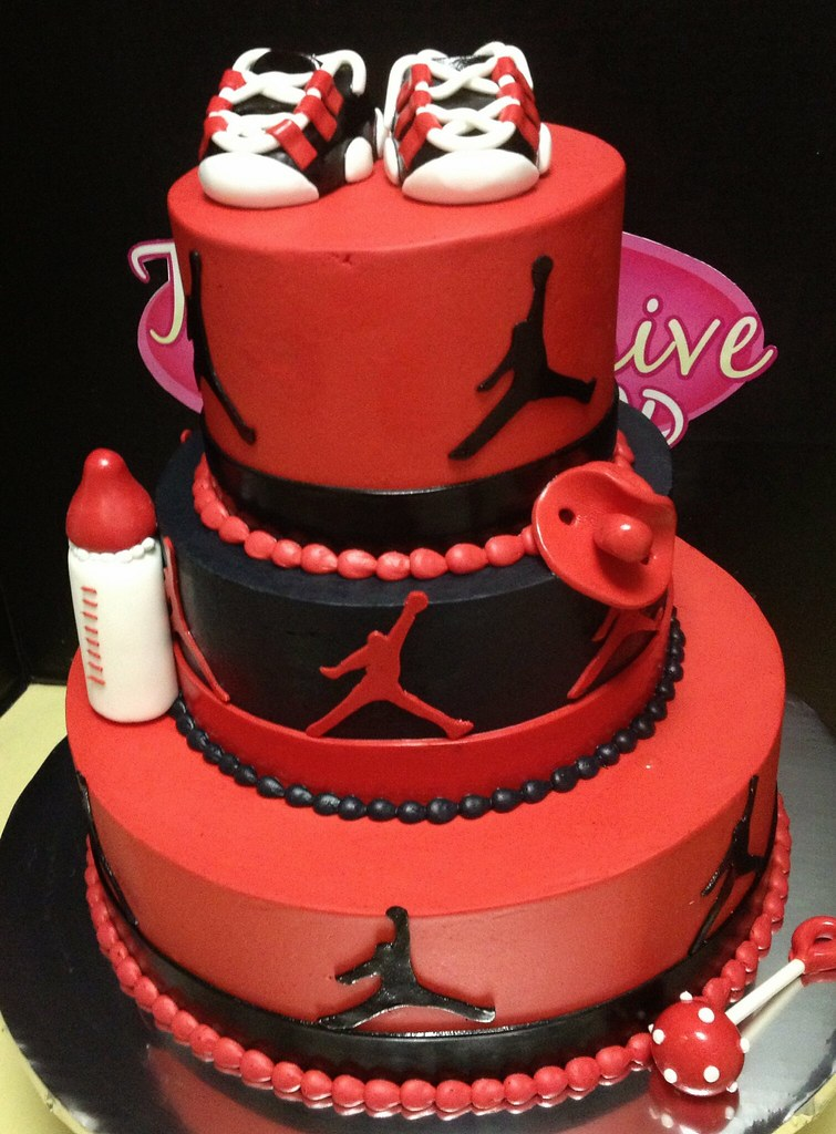 Jordan Shoes Wedding Cake