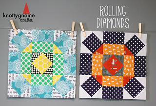 Rolling Diamonds tutorial | by knottygnome