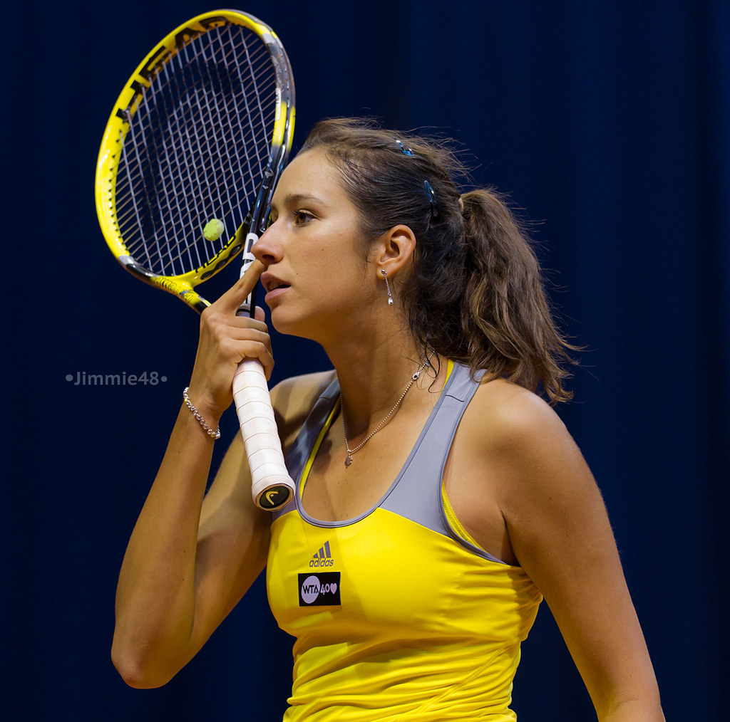 Nastassja Burnett Porsche Tennis Grand Prix 2013 Wta Pre Flickr
