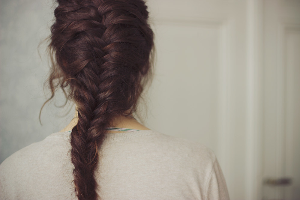 French Fishtail Braid Website Tumblr Facebook Flickr