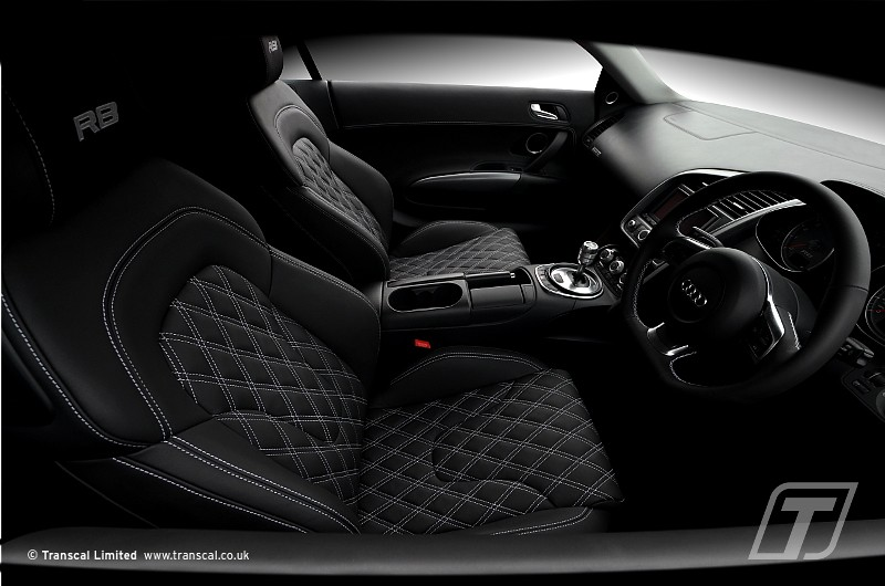 Audi R8 Custom Leather Interior 92 Transcal Ltd Flickr