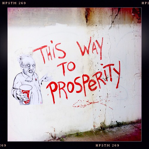 This Way To Prosperity | by swanksalot