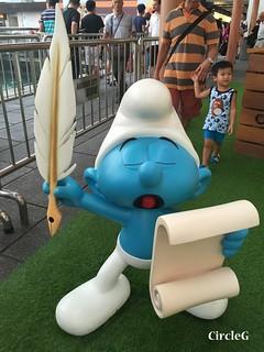 CIRCLEG 遊記 香港  尖沙咀 海港城 藍精靈 HABOUR CITY (18)
