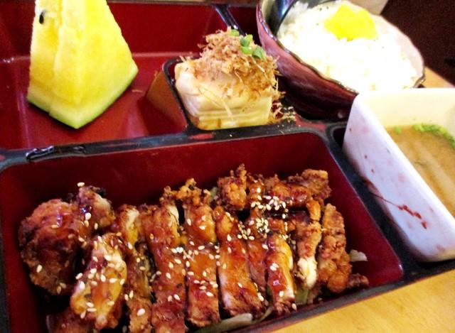 Sushi Tie chicken bento