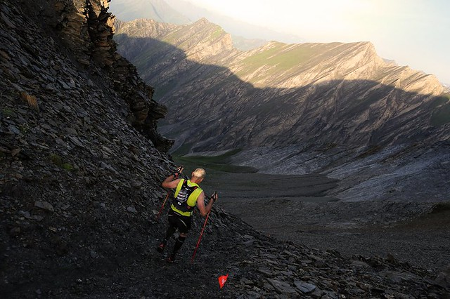 Very long ascents and descents, a main feature of ultra-trail races in the Alps!