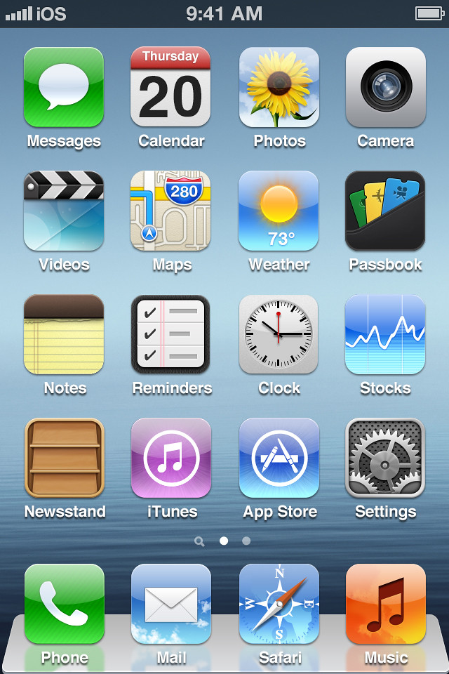 Apple Home Screens Home Screen Iphone 4s | by