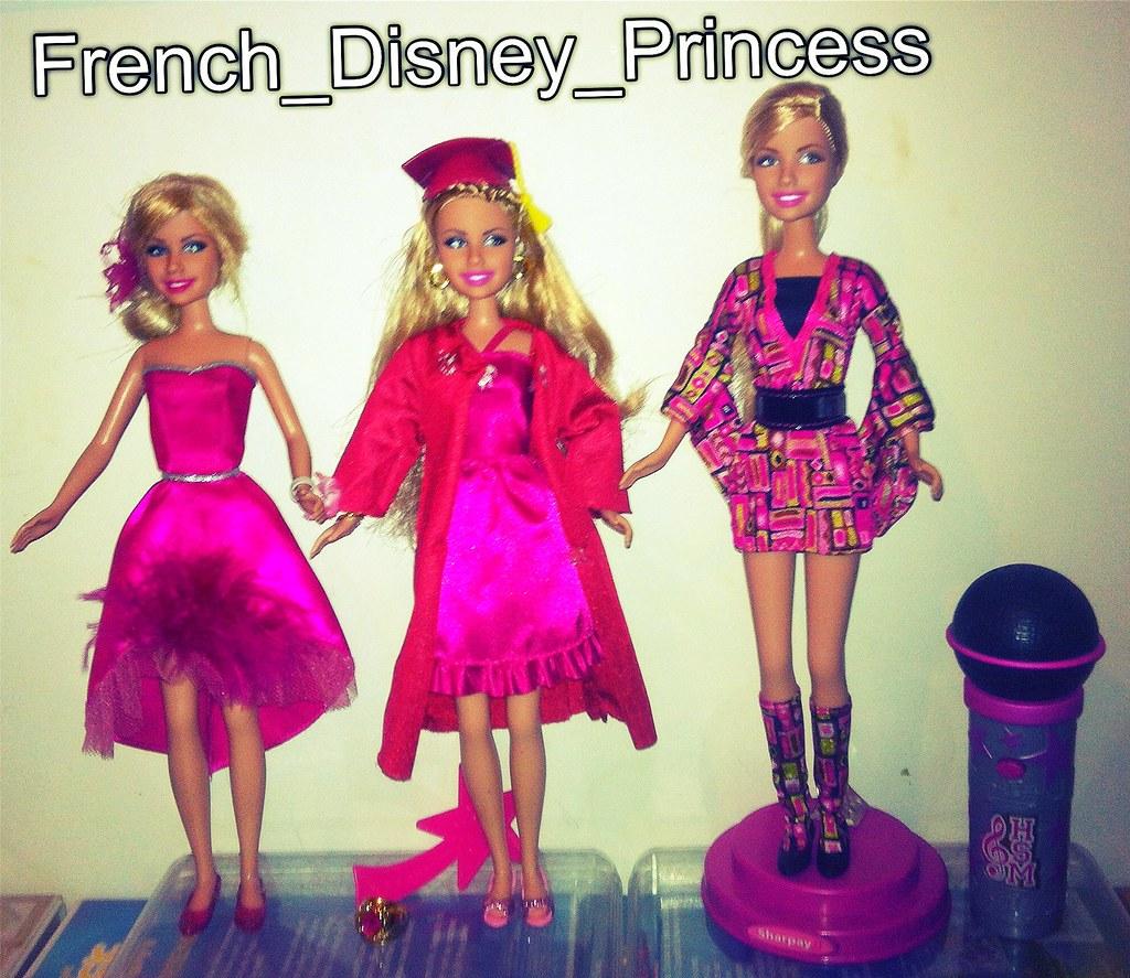 My 3 High School Musical 3 Sharpay Evans Dolls