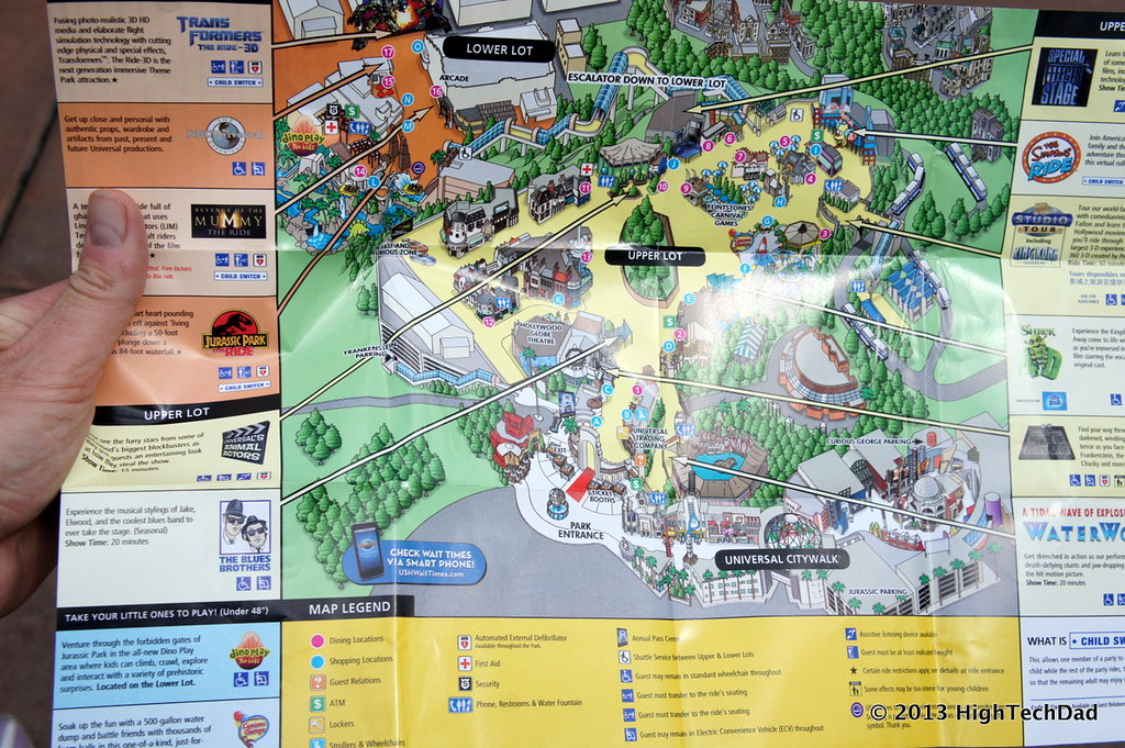 Universal Studios Map | Photos from a trip to Universal Stud… | Flickr