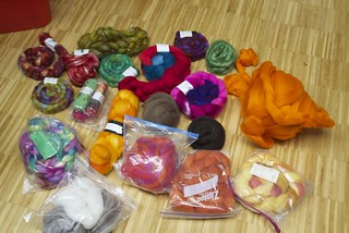 spinning stash | by creative mother