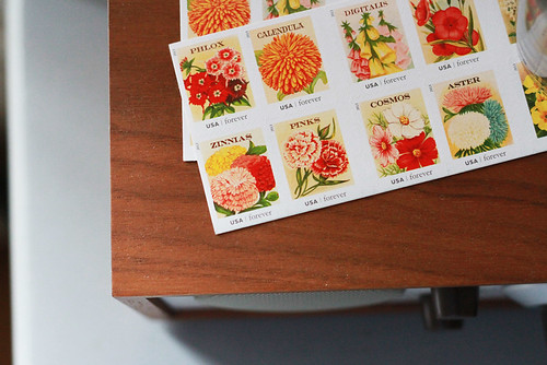 flower stamps | by reading my tea leaves