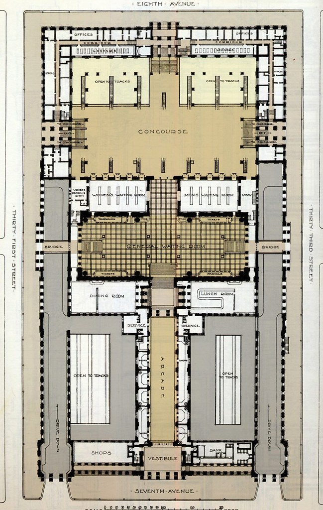 Pennsylvania Station Nyc Floor Plan Floor Plan To The