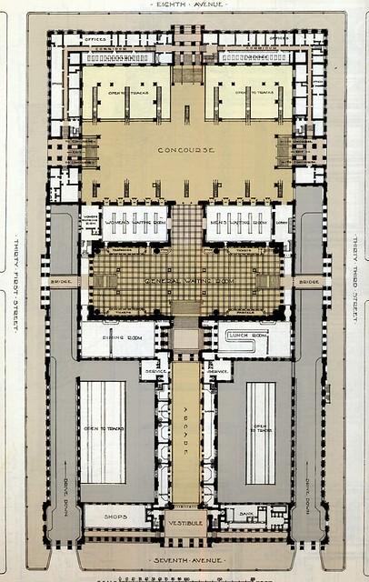 pennsylvania station nyc floor plan flickr photo sharing
