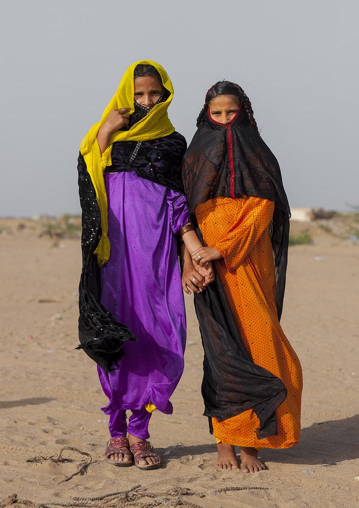 Rashaida Tribe Girls, Port Sudan, Sudan
