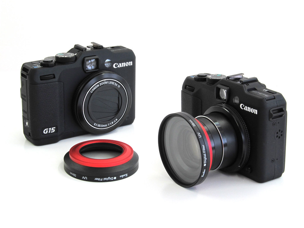 canon powershot g15 with carry speed magfilter adapter flickr. Black Bedroom Furniture Sets. Home Design Ideas