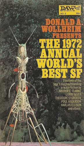 Donald A. Wollheim (ed) - The 1972 Annual World's Best SF (DAW)