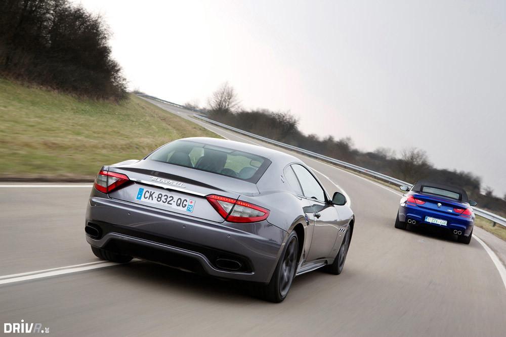 Maserati Granturismo Sport >> ShootOut: Maserati GranTurismo Sport vs BMW M6 Cabrio | Flickr