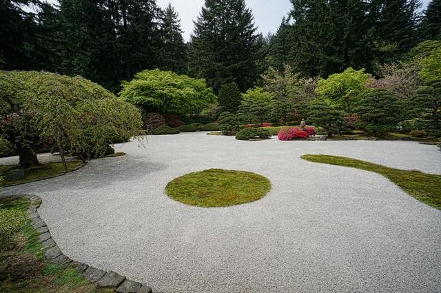 The Flat Garden at the Portland Japanese Garden 1