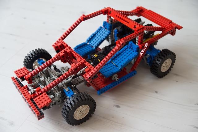 lego technic 8865 super car flickr photo sharing. Black Bedroom Furniture Sets. Home Design Ideas