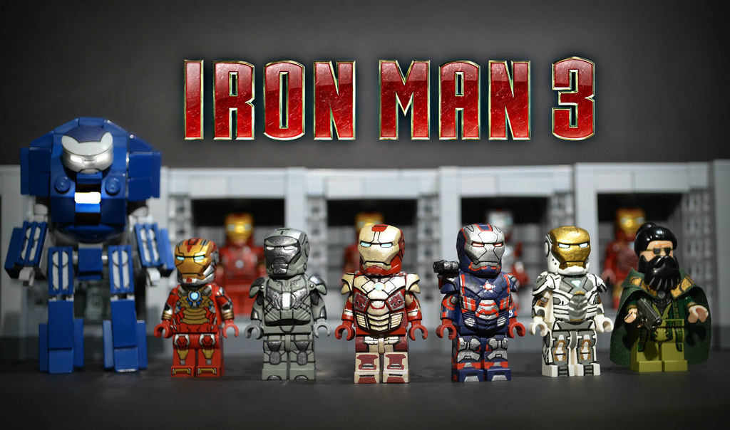 Lego iron man 3 after three months of on and off work - Lego iron man 3 ...