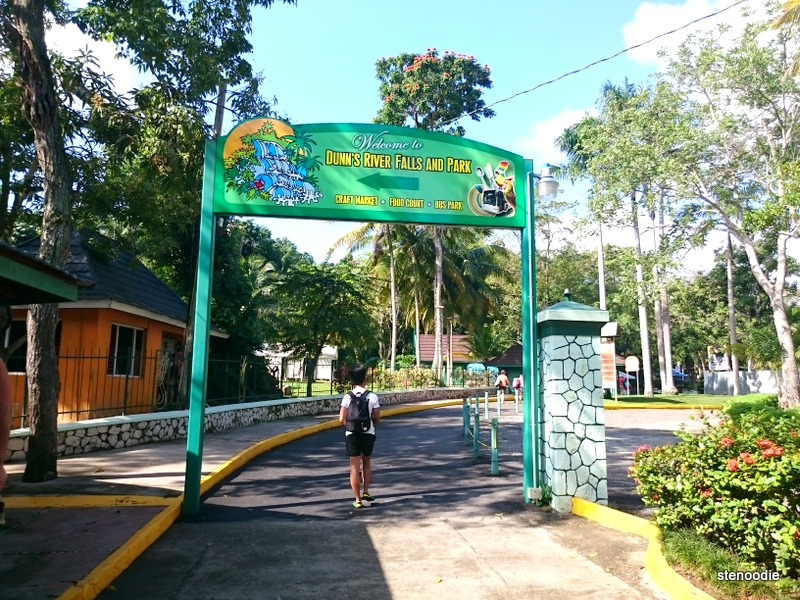 Dunn's River Falls sign
