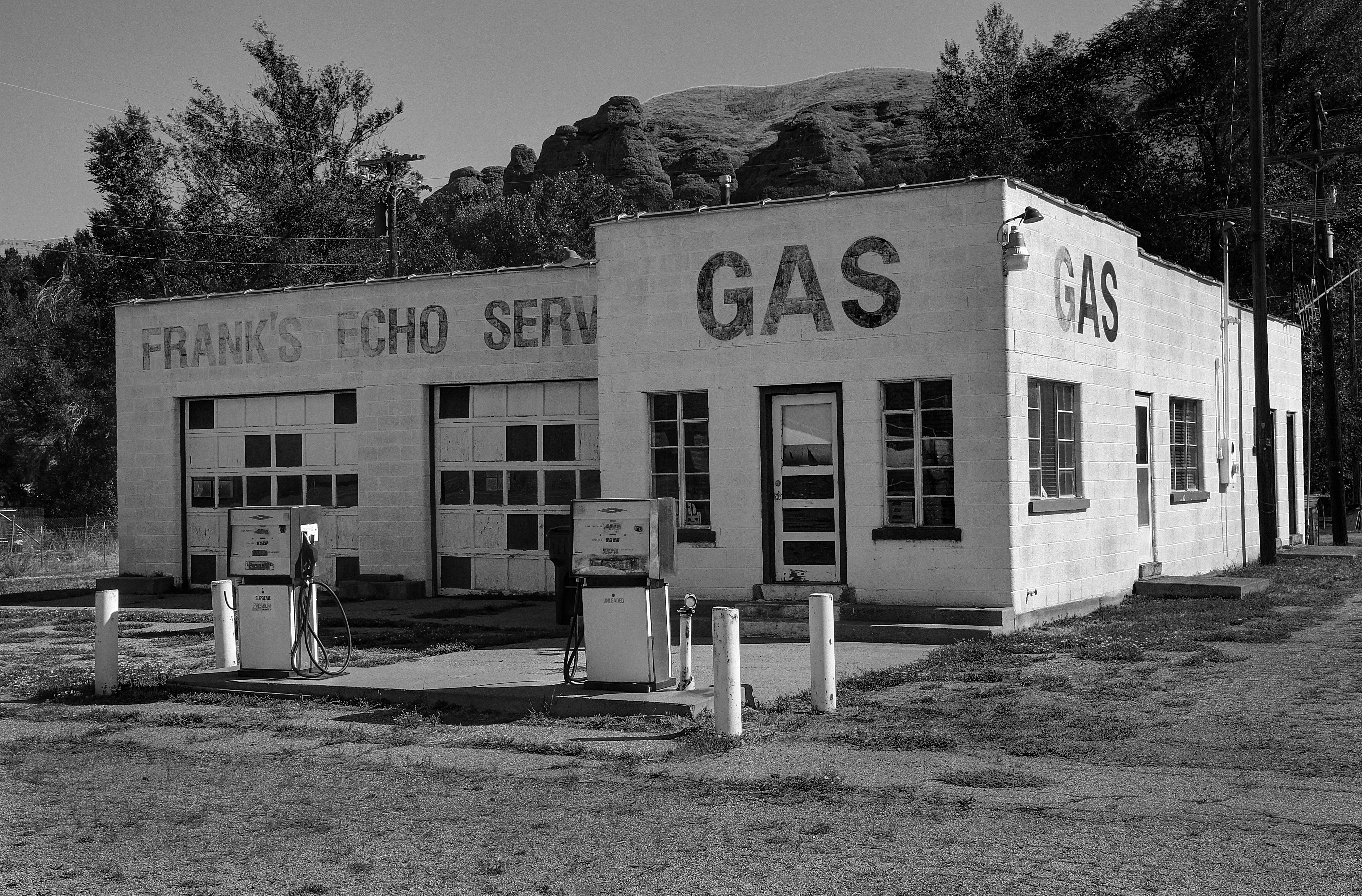 Frank's Echo Gas - Echo, Utah U.S.A. - September 7, 2016