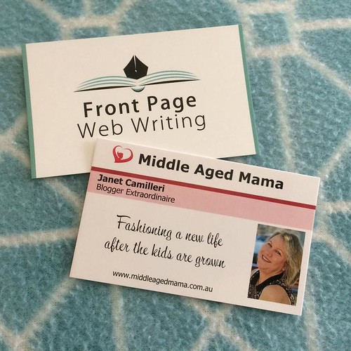 business card reveals midlife issues