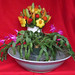 Fruit Basket with Flowers - Copy