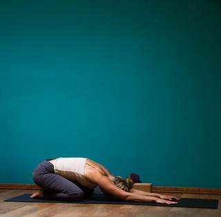 Child's Pose | Balasana | by uwenna