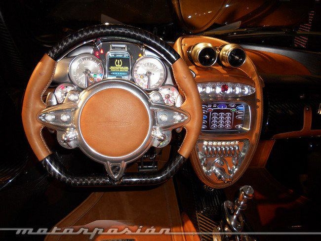 Pagani Huayra - steering wheel | CSharpGuy | Flickr
