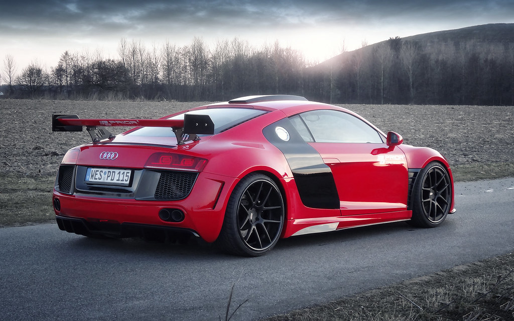 Prior Design PD-GT850 Widebody Aero Kit for the Audi R8 | Flickr