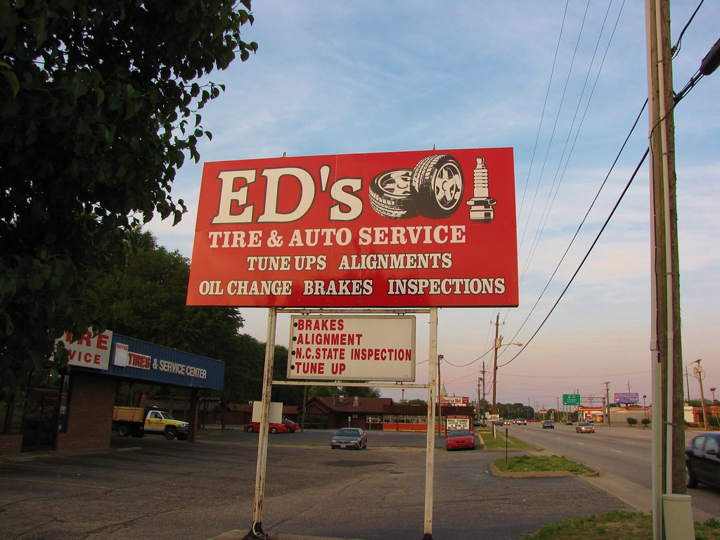 Ed S Tire And Auto Service Ed S Tire On Owen Drive In Faye Flickr
