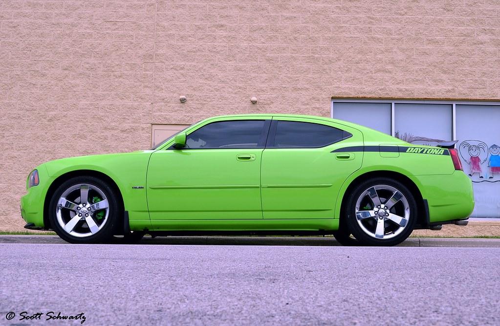 dodge sublime green charger daytona rt scott597 flickr
