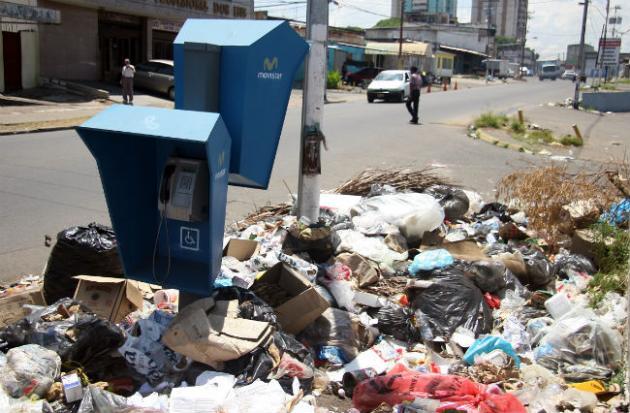 Ciudad Guayana se ahoga en la basura y las protestas se incrementan cada vez más