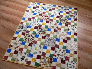9 Patch Novelty | by Deb@asimplelifequilts