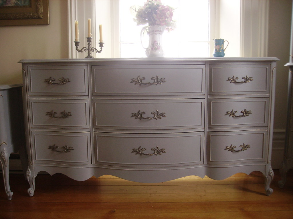 Luxury French Provincial Bedroom Set Decoration